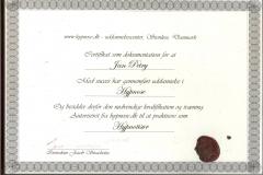 Hypnotisør/Hypnose - Certifikat